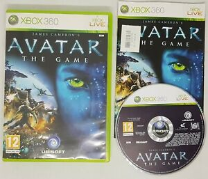 James Cameron's Avatar: The Game (Microsoft Xbox 360, 2009) Complete