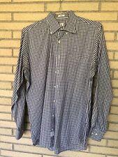 Peter Millar men's medium long sleeve button down shirt plaid