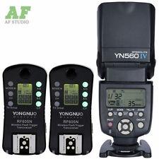 Yongnuo YN-560 IV Flash Speedlight + RF-605 Wireless Trigger w/ Bounce for Nikon