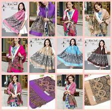 10 women shawl wrap wholesale retro boho pashmina scarf shawls bulk