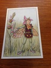 Cicely Mary Barker Flower Fairy Postcard - Bee Orchis Fairy - NEW