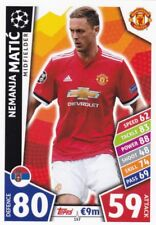 Nemanja Matic  2017-18 Topps Champions League Match Attax,Sammelkarte,#157