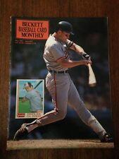 CAL RIPKEN COVER BECKETT BASEBALL CARD PRICE GUIDE MAY 1991 ISSUE #74