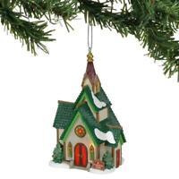 D56 North Pole Village St Nicholas Chapel Ornament 6002252*NEW**Ships Free*