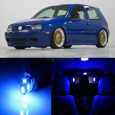 11 x Blue LED Interior Light Package For 1999 - 2004 VW Jetta MK4 + PRY TOOL