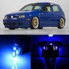 11 x Ultra Blue LED Interior Light For 1999 - 2004 Volkswagen VW Jetta MK4