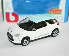 Burago - CITROEN DS3 (White) - 'Street Fire' Model Scale 1:43)