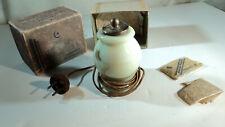 Rare Art Deco Tiny Fragrance Lamp ILLidela Moon light in Box