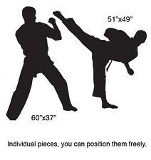 Vinyl Wall Decal Sticker Karate Martial Arts 5ft tall