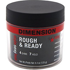Style Sexy Hair Dimension Rough - Ready 4 Shine 7 Hold Pudding 4.4 oz