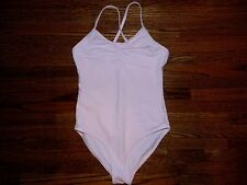Girl's Pink Cotton Leotard Size M 7/8/10 by American Girl