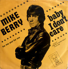 """7"""" 1975 NL-PRESS RARE VG++ MIKE BERRY Baby I Don´t Care"""