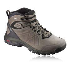 Stivali, anfibi e scarponcini da uomo marrone in camoscio trekking, escursione, arrampicata