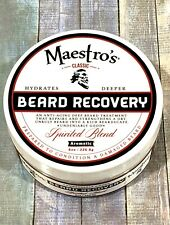 Maestro's Spirited Blend Beard Recovery Grooms Hydrates Deeper Smooth 8 Oz