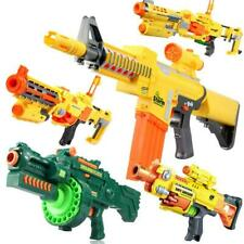 Kids Toy Bullet Electric Light Removable Simulation Deformation Soft Ball Gun