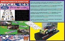 ANEXO DECAL 1/43 FOCUS HIRVONEN/LATVALA/QASSIMI R.AUSTRALIA 2009 1st/4th/19 (01)