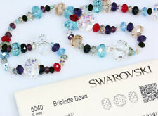 Genuine SWAROVSKI 5040 Briolette Crystal Beads * Many Sizes & Colors