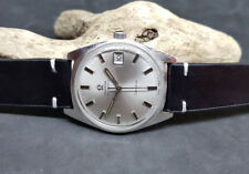 VINTAGE 1968 OMEGA GENEVE SILVER DIAL DATE CAL:565 AUTOMATIC MAN'S WATCH