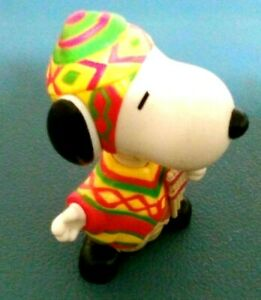 McDonalds Happy Meal Toy 1999 Around The World Snoopy Peru Collectable RARE