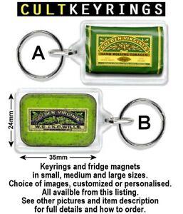 Golden Virginia keyring / fridge magnet - Hand Rolling Tobacco, smoking