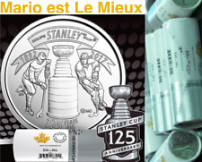 1892-2017 Canada 40 25cent Coins 125th Anniv. Stanley Cup SpecialWrap Roll NoTax