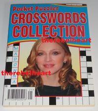 MADONNA Pocket Puzzler Crosswords Collection 2003 UK Magazine UNUSED BOOK - Rare