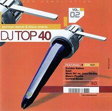 DJ TOP 40 VOL. 02 - GERMAN DANCE & DISCO CHARTS / 2 CD-SET - NEU