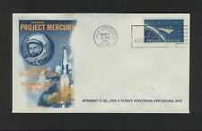 JOHN GLENN - PROJECT MERCURY - SPECIAL EVENT HOMECOMING CACHETED / UNADDRESSED