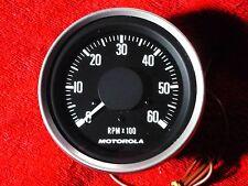 TACHOMETER 6000RPM  12V HEAVY DUTY MOTOROLA 7ST26024