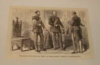 1886 magazine engraving ~ WILLIAM OF PRUSSIA
