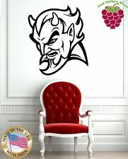 Wall Stickers Vinyl Decal Hell Devil Satan Evil ig769