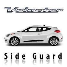 3D carbon fiber side guard pre-cut decal set fits Hyundai Veloster 2011-2018