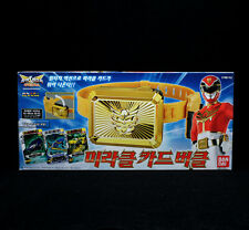 Bandai Power Rangers Tensou sentai Goseiger Gosei Cards Buckle Belt Mega Force