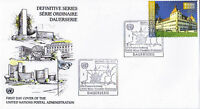 UNITED NATIONS 2003 E0.04 DEFINITIVE FIRST DAY COVER GENEVA SHS