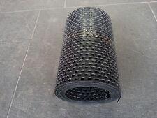(2,26€/m) 5m Vogelschutzgitter Lüftungsband Lüftungsgitter 180mm schwarz PVC