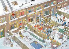 Christmas Eve Jan van Haasteren 1000 Piece Cartoon Comic Jigsaw Puzzle by Jumbo