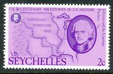 SEYCHELLEN 1976 200 Jahre Unabhängigkeit der Vereinigten Staaten von Amerika 2 C
