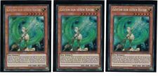 3 x Déesse Le BELLES vengeancee lckc-de106, secret rare, Allemand, Mint, PLAYSET