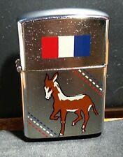 Vintage Amico Cigarette Lighter Democratic Donkey Design
