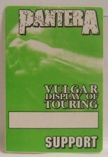 PANTERA - ORIGINAL CONCERT TOUR CLOTH BACKSTAGE PASS