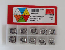 carbide inserts CCGT 120404FN-25P H210T CERATIZIT NEW-10pcs.