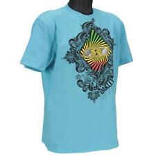 Oakley TRANSFIXED T-shirt Size M Medium River Blue Regular Fit Mens Cotton Tee