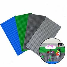 Lego Compatible Blue Baseplate Brick Building 16 x 32 Dots New Play boy girl