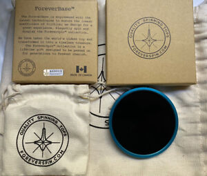 Foreverspin Limited Edition spinning base #136 Of 1000 Rare Blue Color