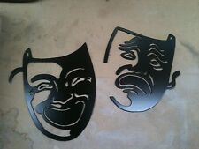 Plasma cut Painted Movie Faces metal mancave/ Wall Decor