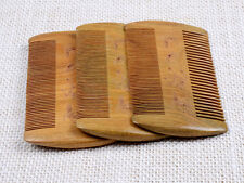 Durable Double Sided Wood Combs for Head Lice Dectection Comb Kids Pet Flea