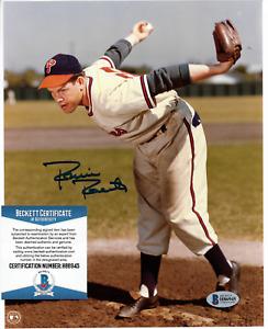 Autograph Robin Roberts 8x10 Philadelphia Phillies Baseball Signed Photo Beckett