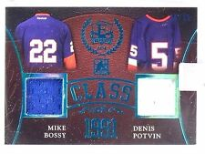 2016 ITG Enshrined Mike Bossy Denis Potvin Class of 1991 Jersey #D/15 #CO20 *553