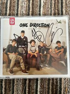 one direction gotta be you signed cd single