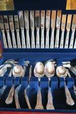 Silver Plated Cutlery Sets & Canteens 58 Pieces